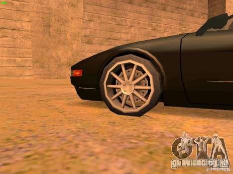 Infernus Revolution для GTA San Andreas двигатель