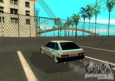 Ваз 2109 ак-47 для GTA San Andreas вид справа