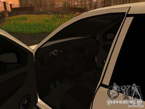 ВАЗ 1118 для GTA San Andreas вид сзади