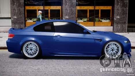 BMW M3 Hamann E92 для GTA 4 вид сверху