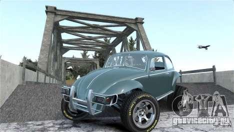 Baja Volkswagen Beetle V8 для GTA 4 вид сверху