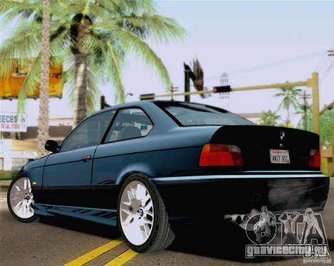 BMW M3 E36 New Wheels для GTA San Andreas вид слева