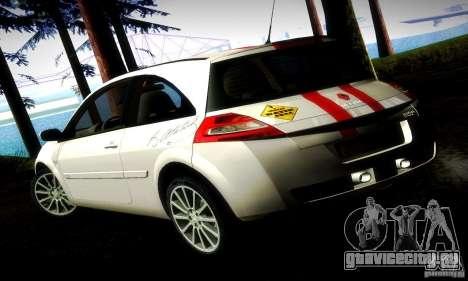 Renault Megane Coupe 2008 TR для GTA San Andreas вид слева