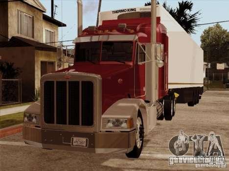 Peterbilt 377 для GTA San Andreas вид слева