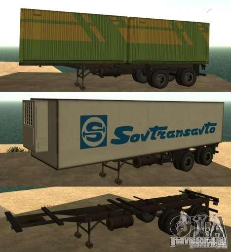 Контейнеровоз + Совтрансавто для GTA San Andreas