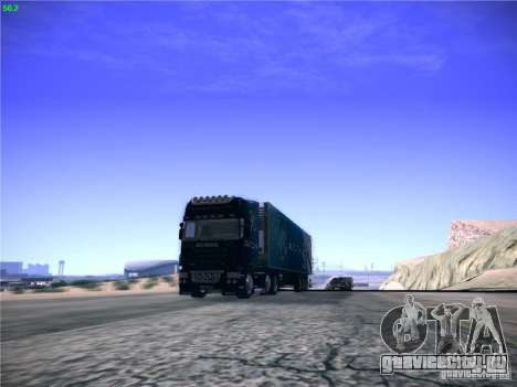 Scania R620 Dubai Trans для GTA San Andreas вид сзади слева