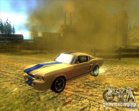 Shelby GT500 Eleanora clone для GTA San Andreas