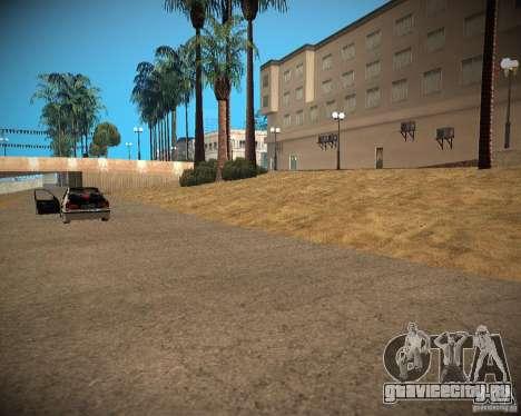 New textures beach of Santa Maria для GTA San Andreas пятый скриншот