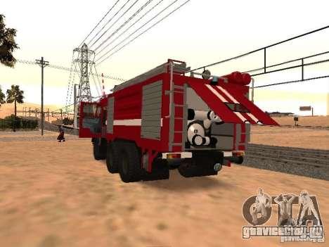 КамАЗ 53229 Пожарный для GTA San Andreas вид справа