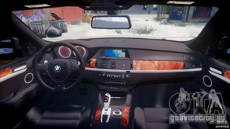 BMW X6M v1.0 для GTA 4 вид снизу