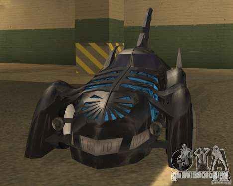 Batmobile 1995 для GTA San Andreas вид слева
