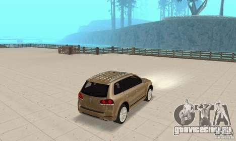 Volkswagen Touareg 2008 для GTA San Andreas вид слева