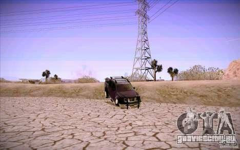 Nissan Fronter для GTA San Andreas салон