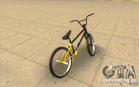 17.5 BMX для GTA San Andreas вид сзади слева