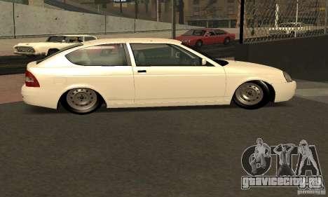 Lada Priora Coupe для GTA San Andreas вид сзади слева
