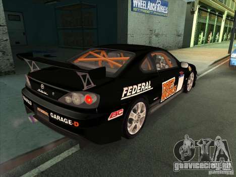 Nissan Silvia S15 Tunable KIT C1 - TOP SECRET для GTA San Andreas салон
