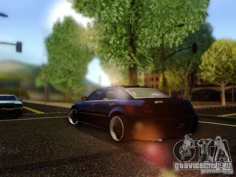 Chrysler 300C VIP для GTA San Andreas вид сзади слева