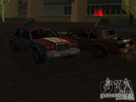 GreenWood Racer для GTA San Andreas вид сзади