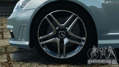 Mercedes-Benz S65 AMG 2012 v1.0 для GTA 4 салон