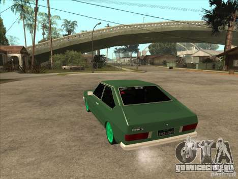 Volkswagen Passat 1.9A для GTA San Andreas вид сзади слева