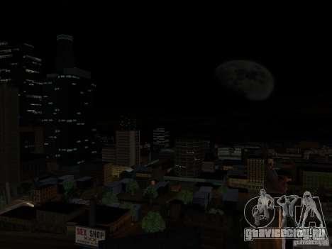 Realistic Night Mod для GTA San Andreas