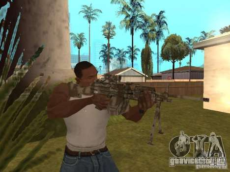 Пулемёт MK-48 для GTA San Andreas третий скриншот