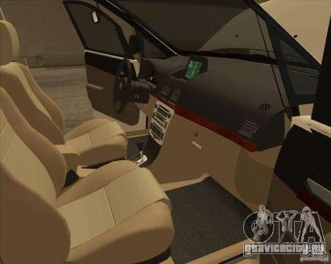 Toyota Innova для GTA San Andreas салон