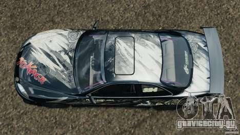 Toyota Soarer Drift для GTA 4 вид справа