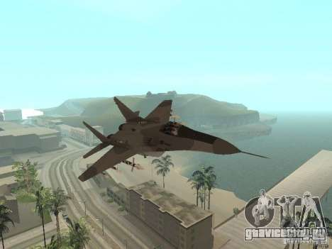 МИГ-29 из COD MW2 для GTA San Andreas