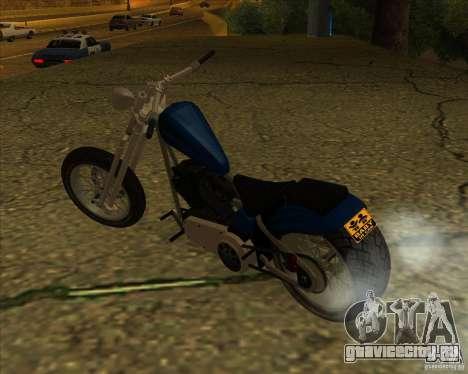 Hexer bike для GTA San Andreas вид справа