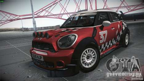 Mini Countryman WRC для GTA San Andreas