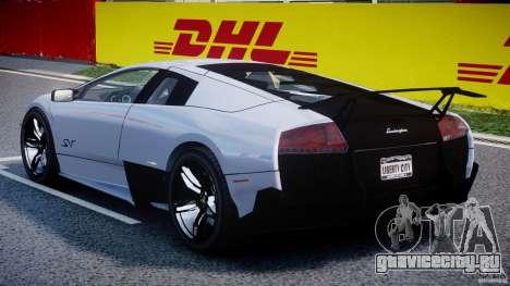 Lamborghini Murcielago LP670-4 SuperVeloce для GTA 4 вид справа
