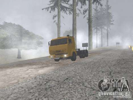 КамАЗ 54115 для GTA San Andreas вид справа