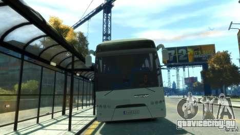 Neoplan Tourliner для GTA 4 вид сзади слева