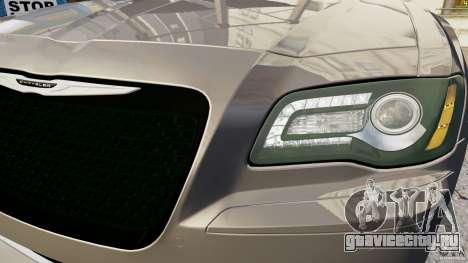Chrysler 300 SRT8 2012 для GTA 4 вид сзади