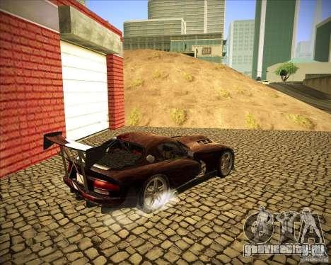 Dodge Viper TT для GTA San Andreas вид справа