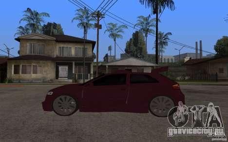 Audi A3 Tuned для GTA San Andreas вид слева