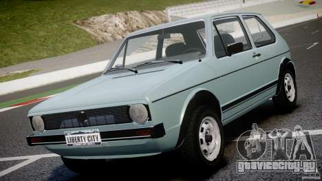 Volkswagen Golf Mk1 для GTA 4