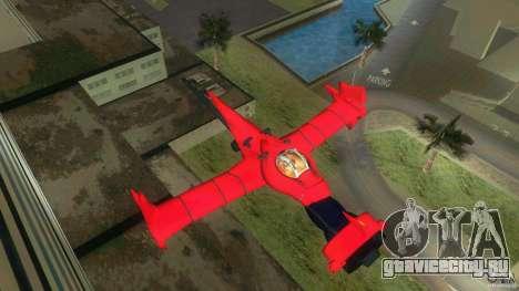 Swordfish Mono Racer для GTA Vice City вид слева