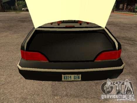 Ford Crown Victoria 1994 Police для GTA San Andreas вид сбоку