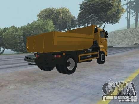 КамАЗ 53605 TAI version 1.1 для GTA San Andreas вид справа