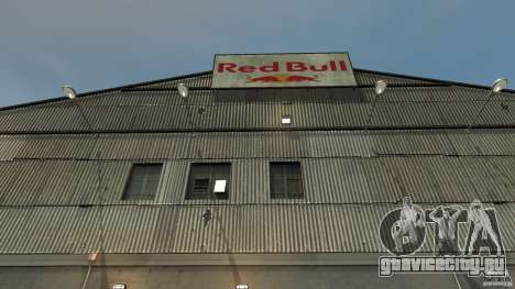 Red Bull Factory для GTA 4 третий скриншот