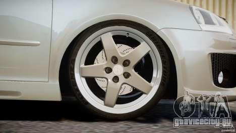 Volkswagen Golf GTI 2006 v1.0 для GTA 4 вид сверху