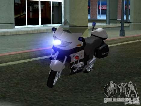 CopBike для GTA San Andreas