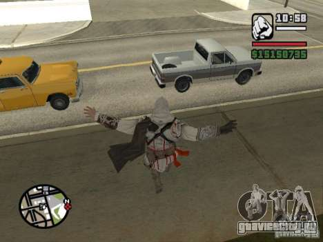 Способности из Assassins Creed для GTA San Andreas