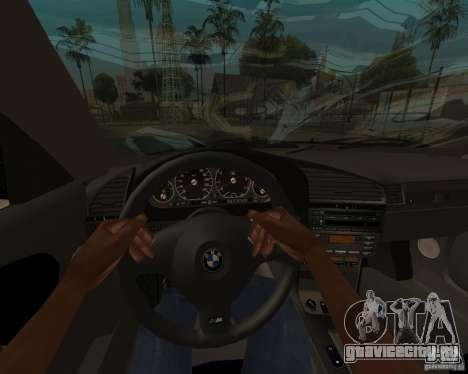 BMW M3 e36 1997 для GTA San Andreas вид сзади слева