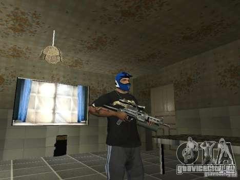 ПП-19 Бизон с оптикой для GTA San Andreas второй скриншот
