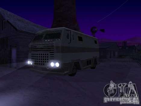 Avan из GTA TBoGT IVF для GTA San Andreas вид сзади слева
