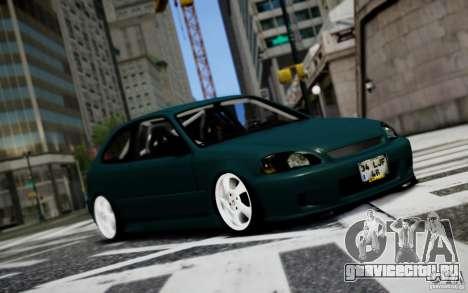 Honda Civic 1.4iES HB 1999 для GTA 4