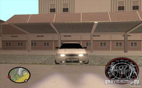 ВАЗ 2110 для GTA San Andreas вид сбоку